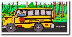 Gypsy Rows bus