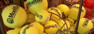 Mud Bay basket of balls