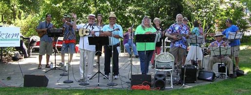 "STRUM, ""Seattle's most relaxed ukulele musicians,"" will play at Family Day."