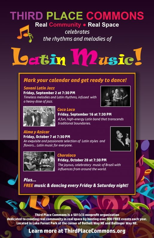 Latin Music Series Poster