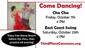 Free dance lessons in October