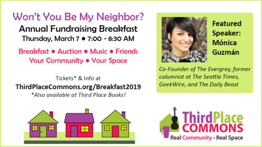 Invitation to Fundraising Breakfast on March 7th