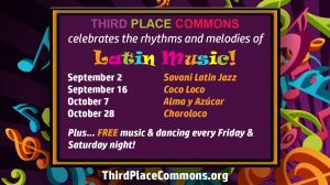 Latin Music Series Schedule