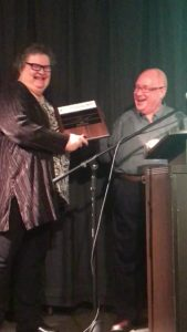 Diane receives the Friends of the Community Award